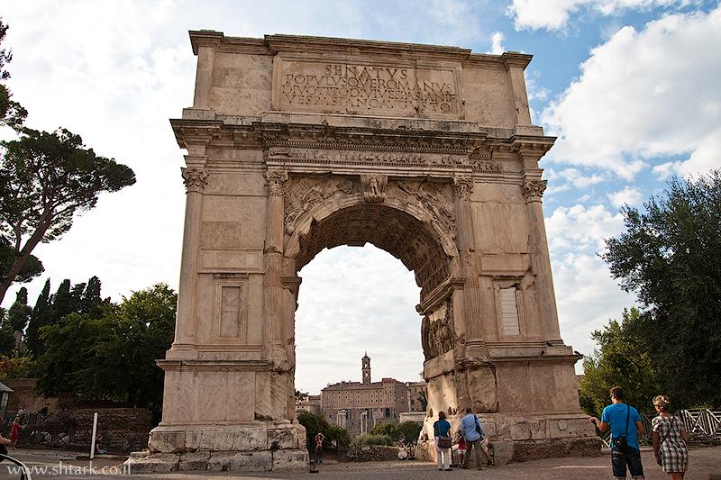 אירופה, איטליה, רומא העתיקה, האימפריה הרומית, הפורום, שער טיטוס,  Italy, Ancient Rome, Roman empire, Roman Forum, triumphal Arch of Titus
