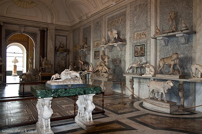 אירופה, איטליה, חצר מוזיאון הוותיקן, צייד,  Italy, Rome, Roma, Vatican City, museums, hunt