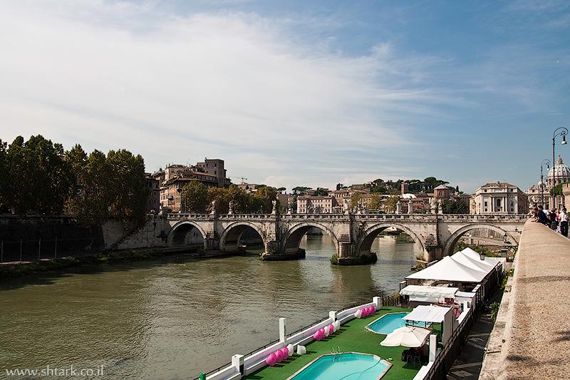 אירופה, איטליה, רומא העתיקה, נהר הטיבר,  Italy, Rome, Tevere, Tiberis