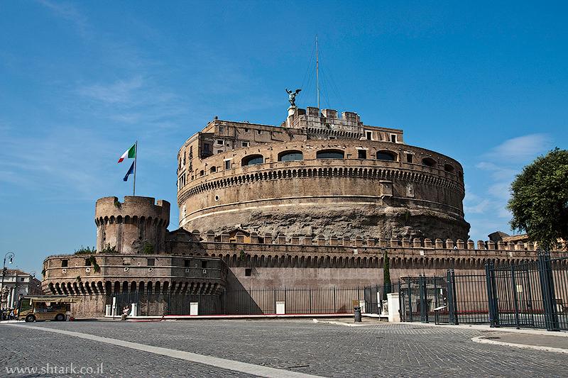 אירופה, איטליה, רומא העתיקה, טירת סנטאנג'לו, מבצר,  Italy, Rome, Castel Sant'Angelo
