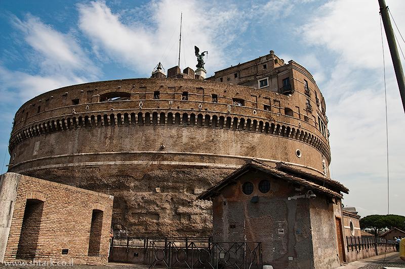אירופה, איטליה, רומא העתיקה, טירת סנטאנג'לו, מבצר,  Roma, Castel Sant' Angelo