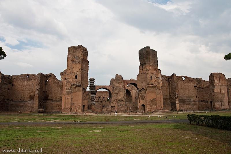 אירופה, איטליה, רומא, מרחצאות קרקלה,  Italy, Rome, Caracalla