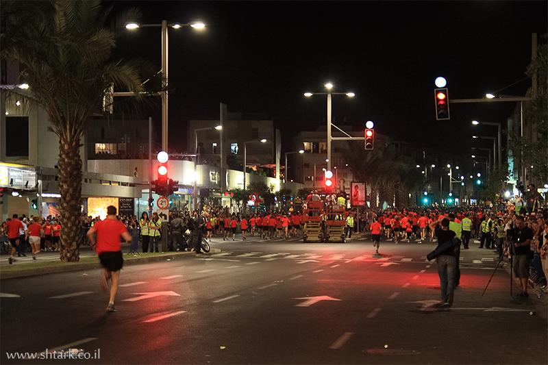 מרוץ הלילה  אבן גבירול,  Nike NightRun Tel Aviv