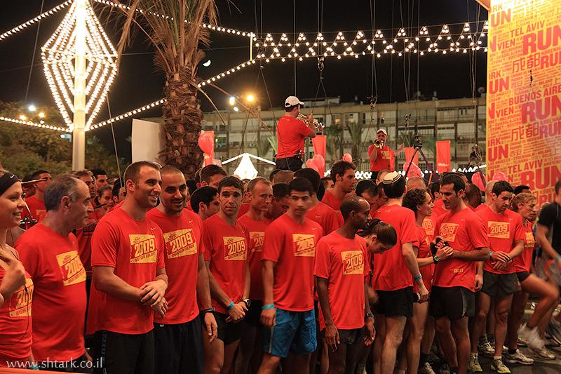 מרוץ הלילה הגדול של נייקי  The Human Race 10K
