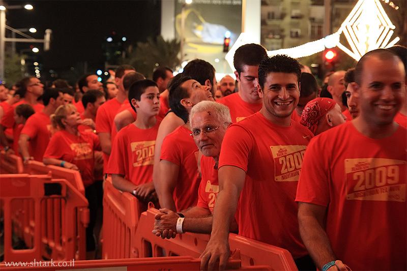 מרוץ הלילה הגדול של נייקי, תל אביב, 2009,  Nike NightRun Tel Aviv