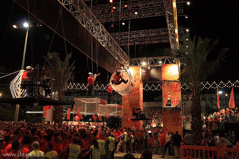 הפקה ונגנים, תזמורת,  Nike NightRun Tel Aviv