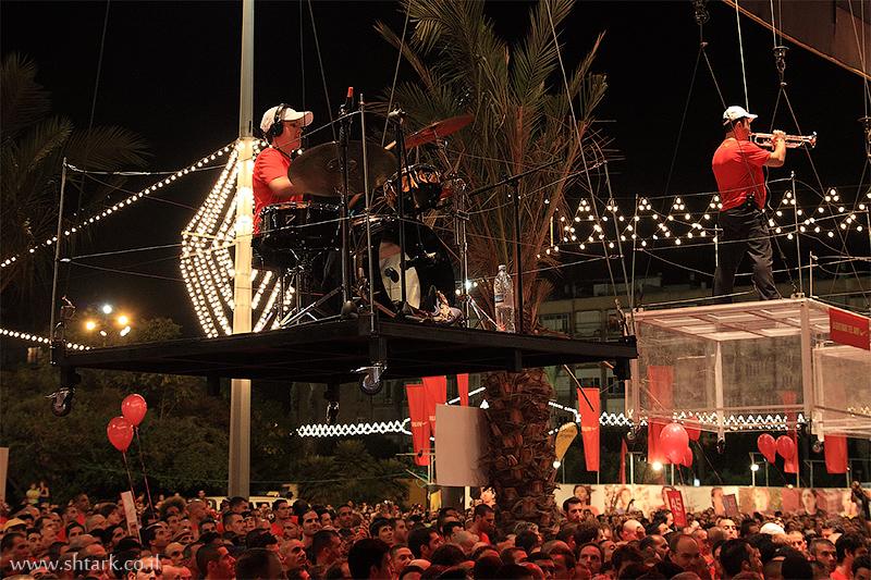 הפקה ונגני התזמורת,  Nike NightRun Tel Aviv