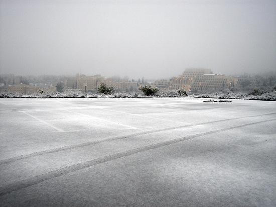 שלג בירושלים - 5
