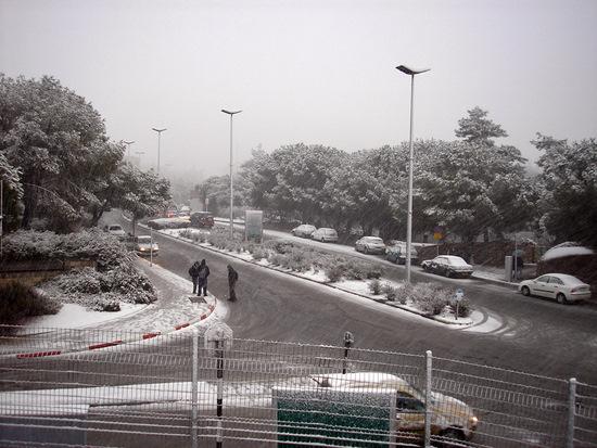 שלג בירושלים - 2