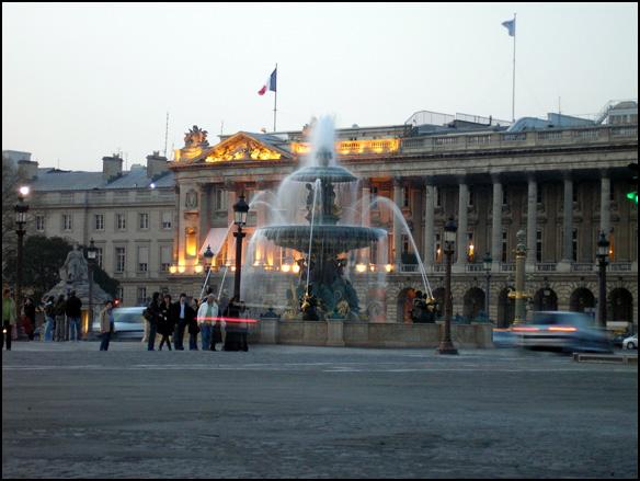צרפת, פריז - כיכר הקונקורד