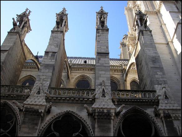 צרפת, פריז - קתדרלת נוטרדאם דה פארי, גרגולים