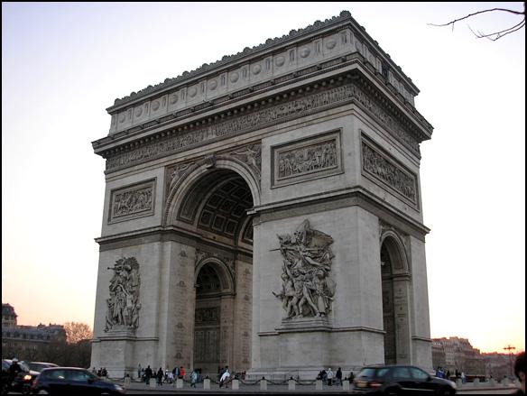 צרפת, פריז, שער הניצחון
