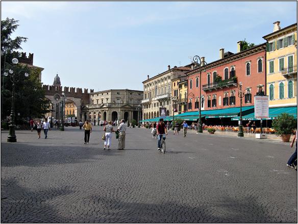 איטליה, ארנה, ורונה, Behind Arena, Verona, Italy
