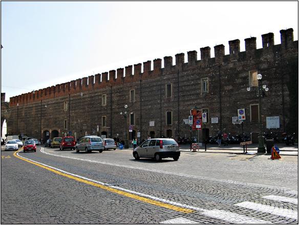 אירופה, איטליה, חומה, ורונה, Verona, Italy