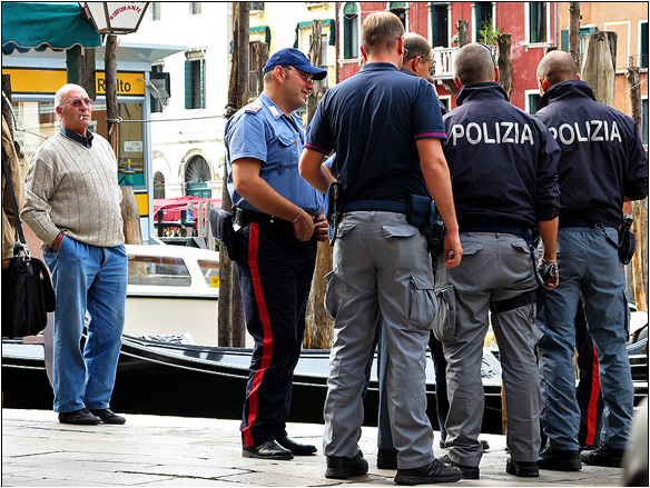 אירופה, איטליה, משטרה ונציאנית, ונציה, Venice, Italy