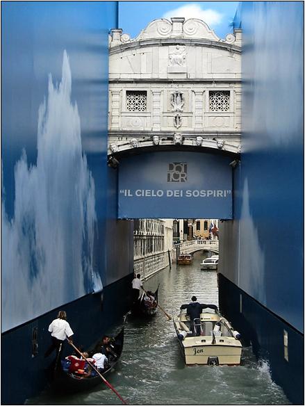 אירופה, איטליה, גשר האנחות, ונציה, Venice, Italy, Rio di Palazzo, Ponte dei Sospiri