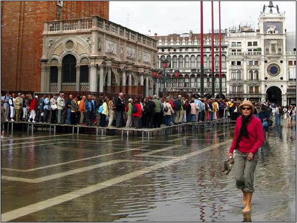 אירופה, איטליה, כיכר סן מרקו, ונציה, Venice, Piazza San Marco, Italy