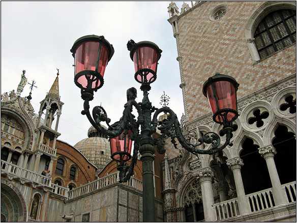 אירופה, איטליה, פנסי רחוב, ונציה, Venice, Italy