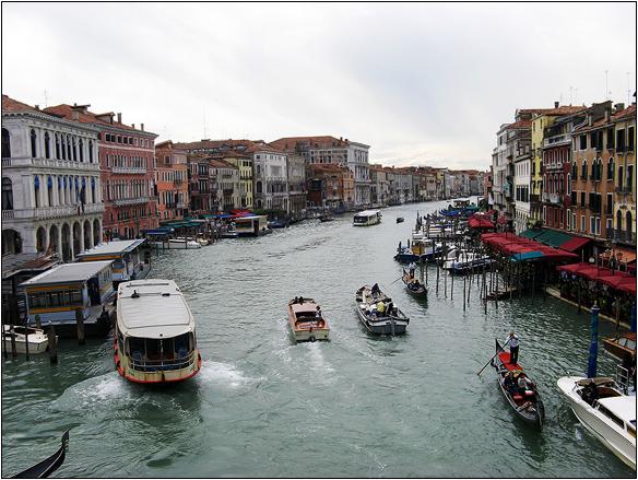 אירופה, איטליה, התעלה הגדולה, ונציה, Venice, Canal Grande, Italy